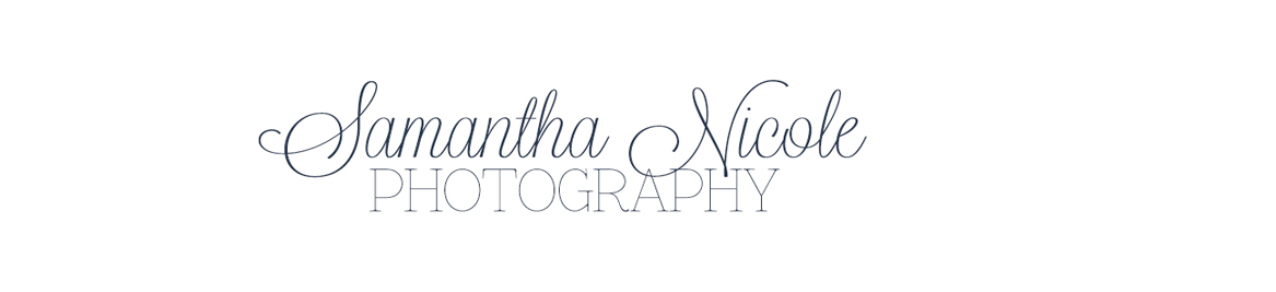 Samantha Nicole Photography logo